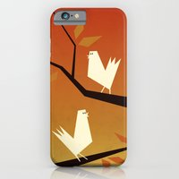 iPhone & iPod Case featuring Autumn birds by Yetiland