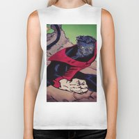 The Amazing Nightcrawler Biker Tank