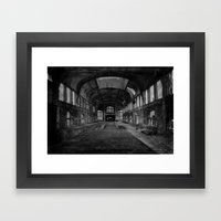 Abandoned Mine Framed Art Print