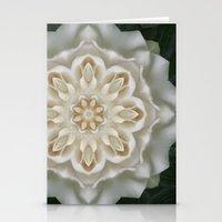 Inner Gardenia Glow Stationery Cards
