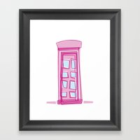London Calling..... Framed Art Print