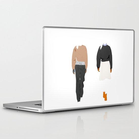 balenciaga couple Laptop & iPad Skin