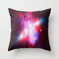 Space. In Color. Throw Pillow