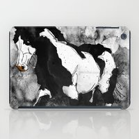 Black & White Horse iPad Case