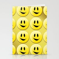 Smiley Smileys! Stationery Cards