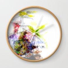 Flying Home (Glitch Remix) Wall Clock