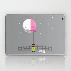 Pink Moon Laptop & iPad Skin