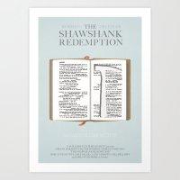 The Shawshank Redemption… Art Print