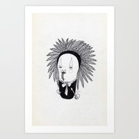 Apache Senior Art Print