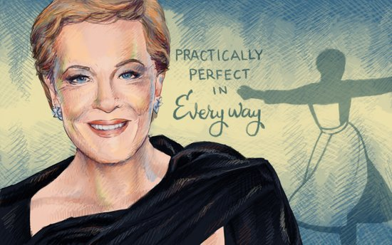 Julie Andrews Art Print