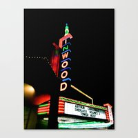 Inwood Theatre Canvas Print