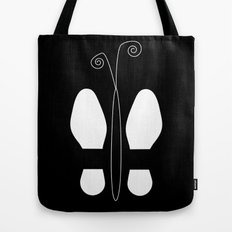 Shoes-Butterfly Tote Bag