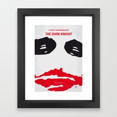 No245 My Dark Minimal Kn… Framed Art Print