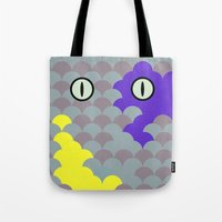 Chesire Scales - Cat Eye - Wonderland Tote Bag