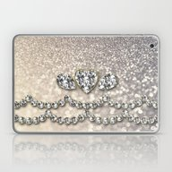Laptop & iPad Skin featuring Diamonds And Sparkles I by Better HOME