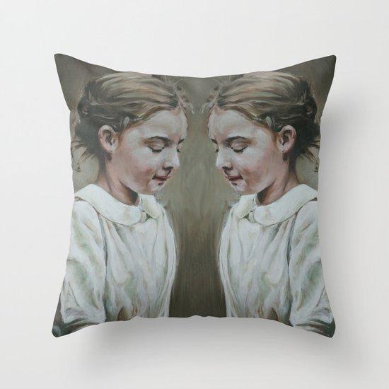 shared memories Throw Pillow