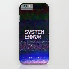 System Error iPhone 6 Slim Case