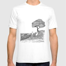View SMALL Mens Fitted Tee White