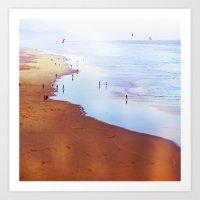 San Francisco Ocean Beac… Art Print