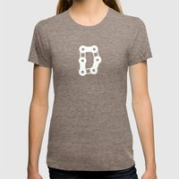 Ride Statewide - Rhode I… Womens Fitted Tee Tri-Coffee SMALL