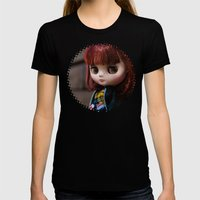 Penny my Middie Blythe  Womens Fitted Tee Black SMALL