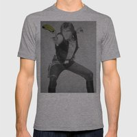 Han Nanner Mens Fitted Tee Athletic Grey SMALL