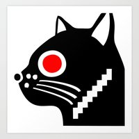 Zelonicus Cat Art Print