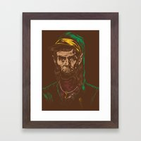 Abraham LINKoln Framed Art Print