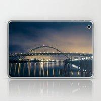 Fremont Bridge at Night Laptop & iPad Skin