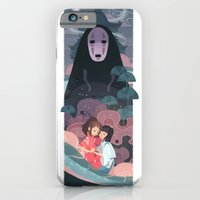 iPhone Cases featuring Return of the Spirit by Ann Marcellino