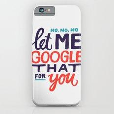 No, No, No Slim Case iPhone 6s