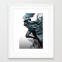 City of Charm Framed Art Print