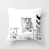 Bear 2 Throw Pillow
