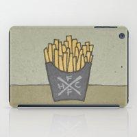 FRENCH FRY HARDCORE iPad Case
