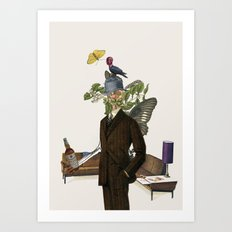 Scotch gives you wings Art Print
