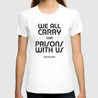 We All Womens Fitted Tee White SMALL