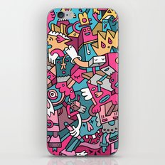 Janitor Blues iPhone & iPod Skin