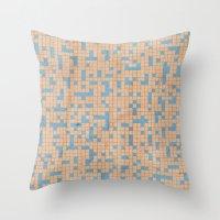 antidote pattern Throw Pillow