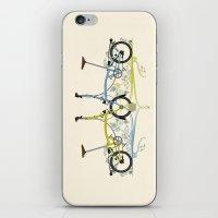 Brompton Bicycle iPhone & iPod Skin