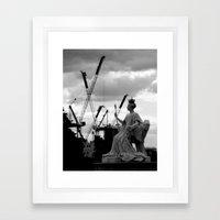 Europe 2 Framed Art Print