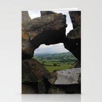 Rock Wall Window Stationery Cards