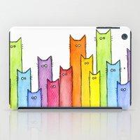 Rainbow Of Cats iPad Case