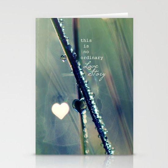 No Ordinary Love Story Stationery Card