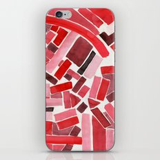 warm color pattern iPhone & iPod Skin