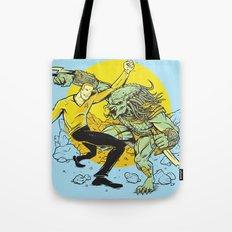 BattleKirk Predactica Tote Bag