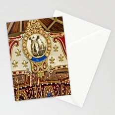 Rhinocerous Carousel at Fair Stationery Cards