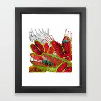 Beautiful And Deadly Framed Art Print