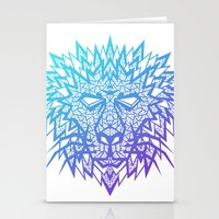 Heart of a Lion Stationery Cards