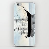 HMS Victory Watercolour iPhone & iPod Skin