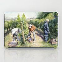 Vineyard Watercolor Wine… iPad Case